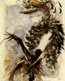 My Fair Lady III Print by Karen Dupré