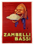 Zambelli-Bassi Reproduction proc&#233;d&#233; gicl&#233;e par Achille Luciano Mauzan