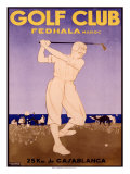 Golf Cup, Fedhala Maroc Giclee Print by  Majorelle