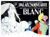 Palais de la Nouveaute, Blanc Giclee Print by René Vincent