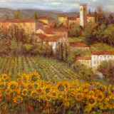 Provencal Village IV Posters by Michael Longo