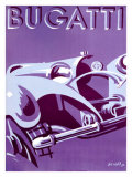 Bugatti Giclee Print by Gerold 
