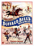 Buffalo Bill&#39;s Wild West, Johnny Baker and Vincente Orepezo Giclee Print