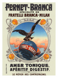 Fernet Branca Giclée-trykk