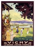 Vichy Impression giclée par Roger Soubie