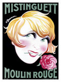 Mistinguett Giclee Print