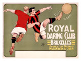 Royal Daring Club, Bruxelles Reproduction procédé giclée par T'Sas