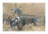 Bentley and Spitfire Print by Peter Miller