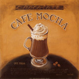 Cafe Mocha Prints by Lisa Audit