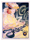 Cafe Jacqmotte Giclee Print by Fernand Toussaint