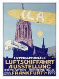 German Air Show, 1909 Giclee Print