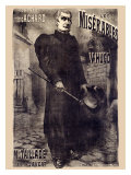 Les Miserables, 1899 Giclee Print