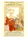 La Femme et l&#39;Enfant Expo Giclee Print by Fernand Toussaint