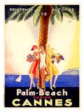 Palm-Beach casino Cannes Reproduction procédé giclée