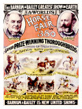 Barnum and Bailey, Horse Fair Giclee Print