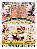 Barnum & Bailey Horse Fair Lámina giclée