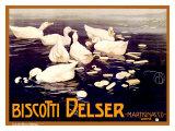 Biscotti Delser Giclee Print by Mario Borgoni