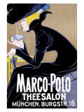 Marco Polo Tea Salon Giclee Print