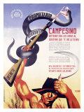 Campesino, Propietario Faccioso Giclee Print by Josep Renau Montoro