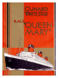 Queen Mary Giclee Print by  Archivea Arts