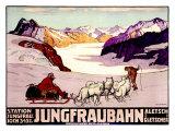 Jungfraubahn Giclee Print by Wilhelm Burger