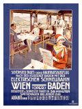 Wien Baden Giclee Print by  Stieborsky