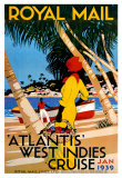 West Indies Cruise Posters