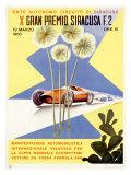 Italian Grand Prix, 1960 Giclee Print