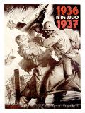 18 de Julio, 1937 Giclee Print