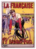 La française Impression giclée par  Marodon