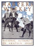 Hebdomadaire Harper's Weekly - La référence du sport amateur Reproduction procédé giclée par Maxfield Parrish