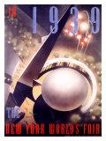 Feria Internacional de Nueva York en 1939 Lámina giclée por Nembhard Culin
