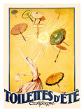 Toilettes d'Ete Giclée-Druck von Jean-Gabriel Domergue