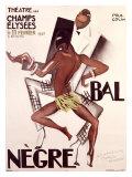 Zwei afrikanische Gentlemen Giclée-Druck