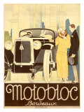 Motobloc Giclee Print