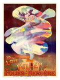 La Loie Fuller, Folies-Bergere Giclée-Druck von  PAL (Jean de Paleologue)