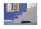 A l'ombre Affiches par John Charbonneau