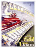 Gran Premio Autodromo Giclee Print by Franco Codognato