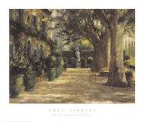 La Signora del Giardino di Tuscana Prints by Greg Singley