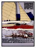 Ruder Regatta Munchner Woche Giclee Print