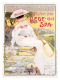 Expo Universelle Liege, 1905 Giclee Print by Fernand Toussaint