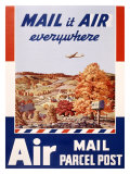 Mail It Air Anywhere Giclee Print