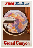 TWA to the Grand Canyon Poster