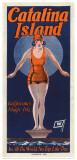 Catalina, Diver, 1925 Poster