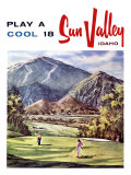 Sun Valley, Idaho Impression giclée