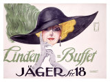 Linden Buffet Giclee Print by Ernst Deutsch