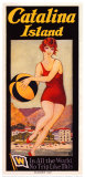 Catalina, Beach Ball, 1927 Posters