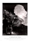 Túnel Montgomery cerca de Christianburg, Virginia, 1957 Láminas por O. Winston Link