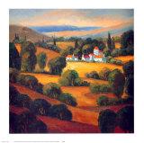 Tuscan Landscape II Art by Tomasino Napolitano
