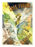 La Louie Fuller Giclee Print